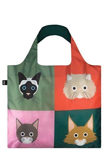 LOQI STEPHEN CHEETHAM Shopping Bag Travel bag, 50 cm, Cats