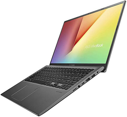 ASUS VivoBook F512DA Laptop, 15.6' FHD Display, AMD Ryzen 3 3200U Upto 3.5GHz, 4GB RAM, 128GB SSD, Vega 3, HDMI, Card Reader, Wi-Fi, Bluetooth, Windows 10 Home