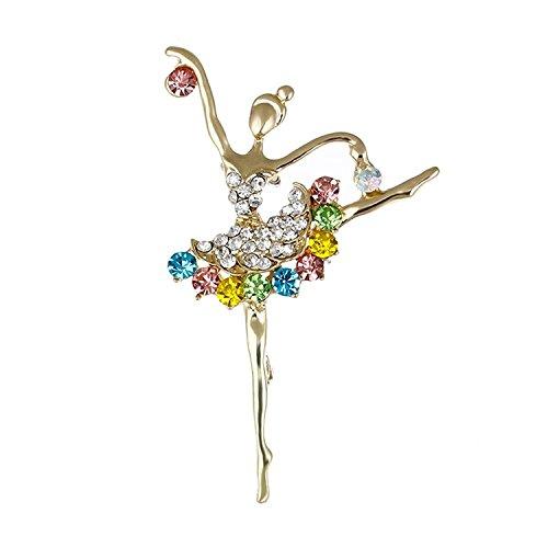 REFURBISHHOUSE Broche Joya de Moda Broche de Diamantes de Imitacion para Boda...