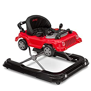 crib bedding and baby bedding jeep classic wrangler 3-in-1 grow with me walker, red