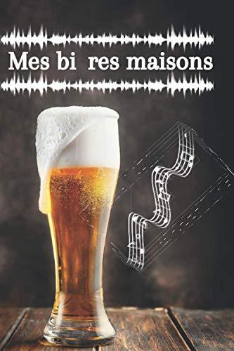 Mes bières maisons: Carnet de Brasserie pour 50 bières, 15,24 x 22,86 cm | Ce carnet est parfait pour les professionnels et les amateurs de bière, ... permettre de noter un maximum d'informations