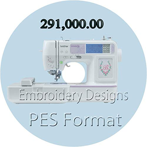 Embroidery designs 291,000 Children PES Format Characters Embroidery Designs for Brother Machine PES Format New 16GB USB Memory