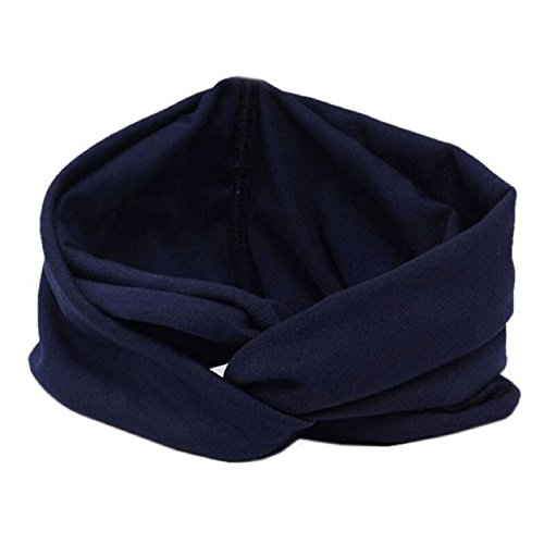 FEITONG Mode féminine Hot vendre Headwear Cross Sport Yoga Tissu Bandeau Turban Head Scarf Wrap