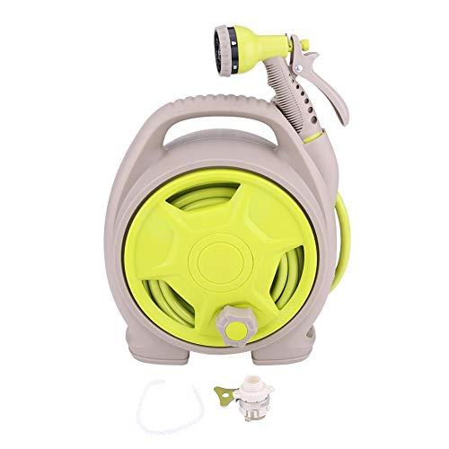 Autowaswater spuitpistool hogedrukreiniger autowaskit met waterpijp 6 functiespray voor het reinigen van auto's opritten reinigen van huizen op het terras balkon kleine tuin