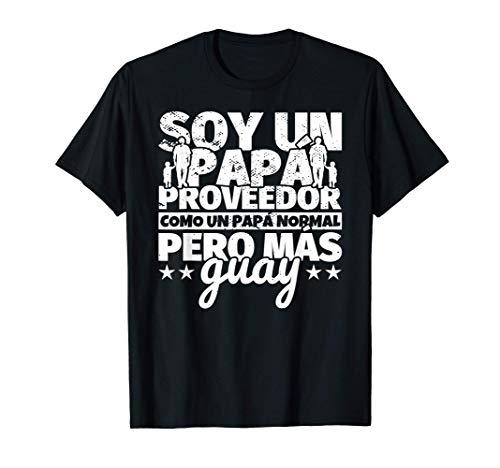 Hombre Proveedor Regalo de padre para papá - Soy un papá Proveedor Camiseta