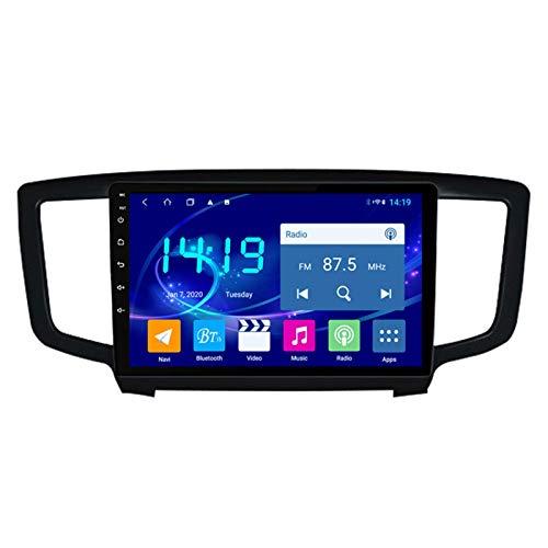Dscam Car Stereo Android 9.1 Cuatro Núcleos Coche Autoradio GPS Navegación para Honda Odyssey 2015-2017 | 9 Pulgada | Pantalla LCD Táctil | USB | WLAN | 4.0 Bluetooth