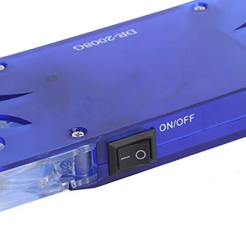 Refrigerador del Ordenador portátil, refrigerador Dual del Ordenador portátil de la Fan de la Fan Dual para los Ordenadores portátiles de Diversos tamaños