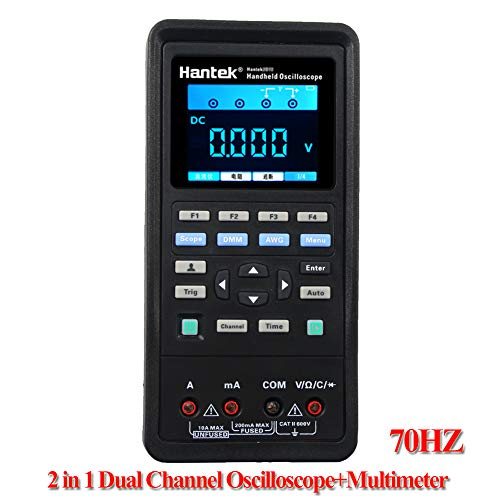 Amazon.co.uk - Hantek 3in1 Digital Oscilloscope + Waveform Generator + Multimeter (2D72) 70 MHz