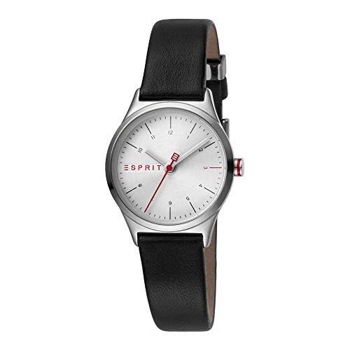 Esprit Damen Analog Quarz Uhr mit Leder Armband ES1L052L0015