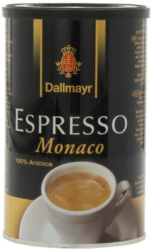 Dallmayr Gourmet Coffee, Espresso Monaco (Ground), 7-Ounce Tins (Pack of 4)
