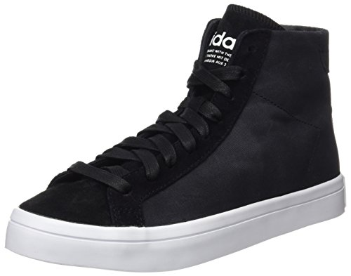 adidas Court Vantage Mid, Scarpe Running Donna, Nero (Core Black/Core Black/Ftwr White), 41 1/3 EU