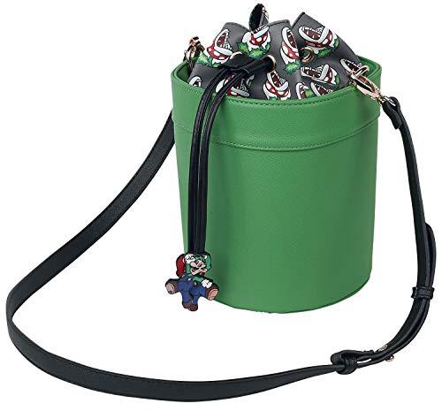 Super Mario Mario und Luigi - Rohr Handtasche Multicolor