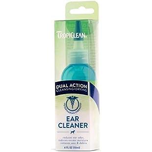 Tropiclean Dual Action Ear Cleaner 118ml
