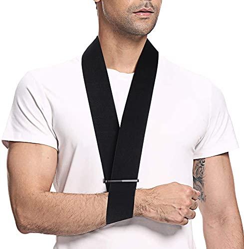 supregear Armschlinge, Leicht Bequem Armschlinge aus Schaumstoff Nackenstütze Wegfahrsperre Halsband Einfacher Schaumstoffkragen Manschettenriemen Atmungsaktiv Schulterstütze für Arm/Hand/Ellbogen