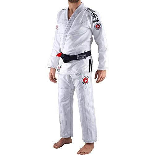 Bõa BJJ Gi Kimono Jogo No Chão 3.0 Bianco - Bianco, A0