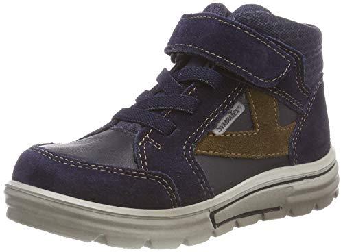 RICOSTA Jungen PETE Hohe Sneaker, Blau (Nautic/See 175), 30 EU