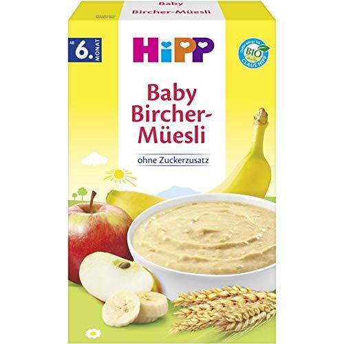 Hipp biologische ontbijtgranen goedemorgen pap Bircher muesli 250g