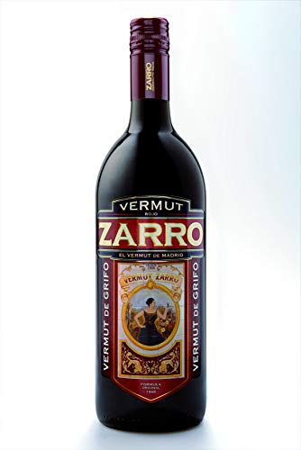 ZARRO vermut rojo botella 1 lt