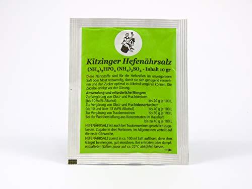 Hefenährsalz gistzout 10 g - ARAUNER gistzout - gistvoedingsstof - diamantfosfaat