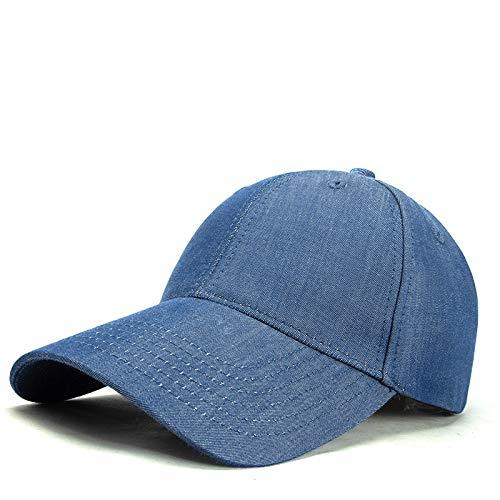 Gorra De Béisbol De Vaquero Deportes Al Aire Libre Ocio Sombra Sombrero 56-59cm Azul