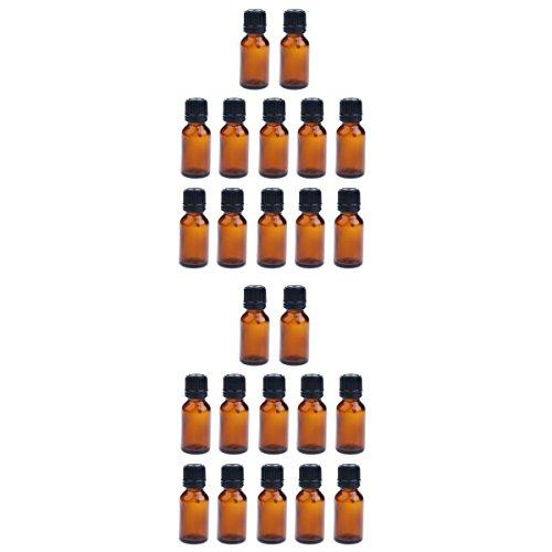 SDENSHI Accessoires Aromathérapie - Lot de 25 Flacons 10 ml /15ml