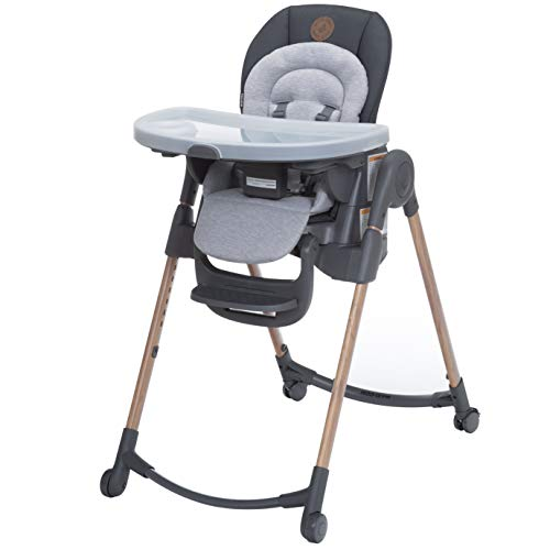 Maxi-Cosi 6-in-1 Minla High Chair, Essential Graphite, One Size