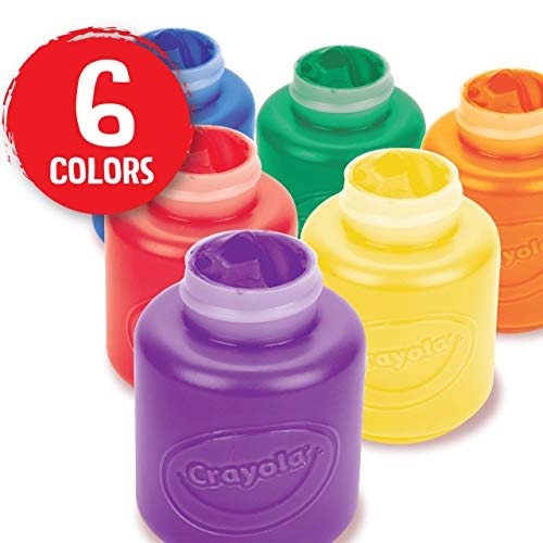 Crayola Washable Kid's Paint (6 count)
