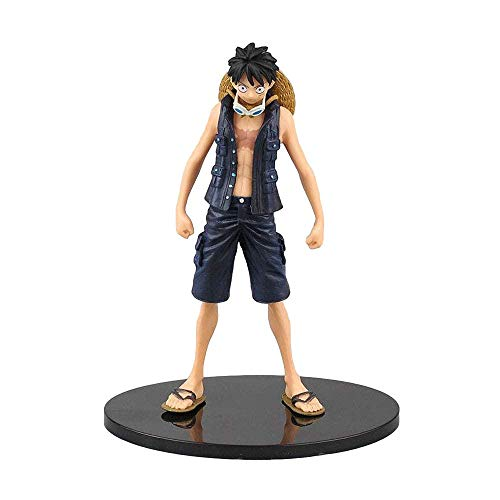 Figuras de Anime One Piece New Theatre DXF Luffy Gilder Golden Emperor Modelo de Anime estático coleccionables Regalos de Anime Juguetes Kits de Modelos