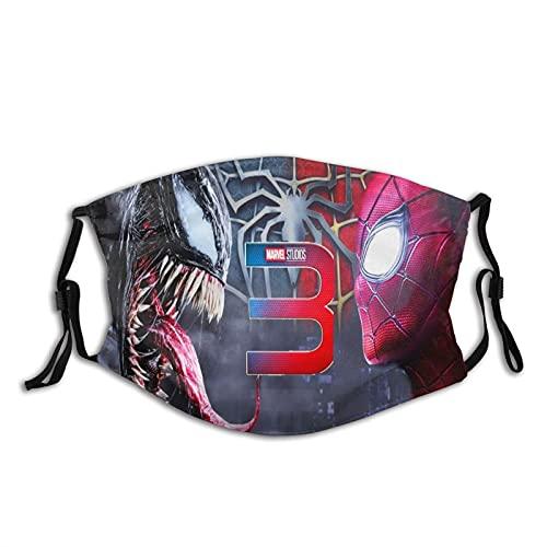 CDKZ - Bandanas para la cara de Spiderman a prueba de polvo, a prueba...
