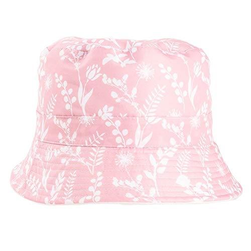 Sombrero de sol con estampado floral para mujer, estilo arbusto
