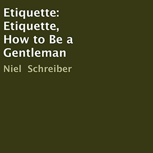 Etiquette audiobook cover art
