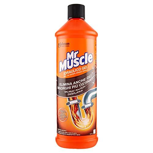 Mr Muscle Idraulico Gel, Disgorgante per Tubi e Scarichi, 1000 ml
