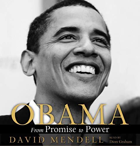 Obama audiobook cover art