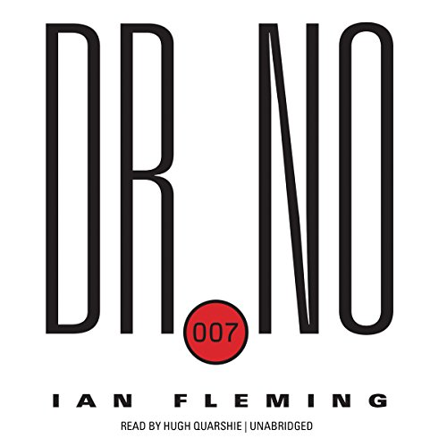 Dr. No audiobook cover art
