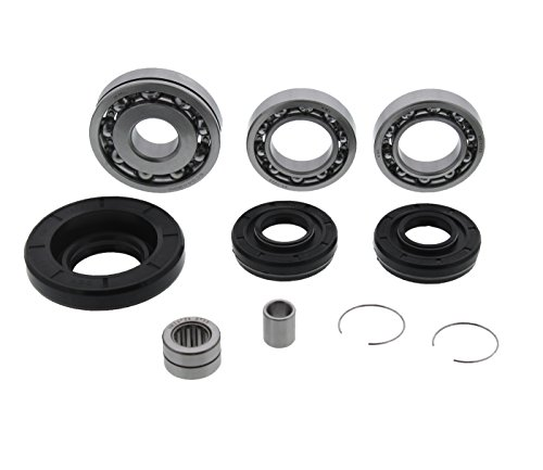 East Lake Axle Front wheel bearings /& seals kit compatible with Honda TRX 400//450 1995 1996 1997 1998-2004