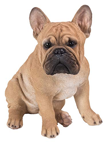 Hi-Line Gift 87765-B French Bulldog Squatting Statue