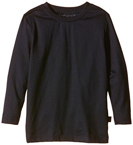 Trigema Mädchen Langarmshirt aus Baumwolle, Navy, 104