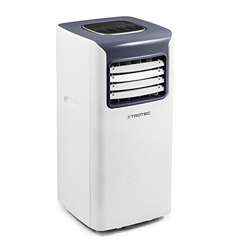 TROTEC Climatiseur Local Monobloc PAC 2010 S de 2,0 KW pour pièces de 65 m³ Max, Classe énergétique A avec Trois Modes de Fonctionnement : rafraîchissement, Ventilation, déshumidification