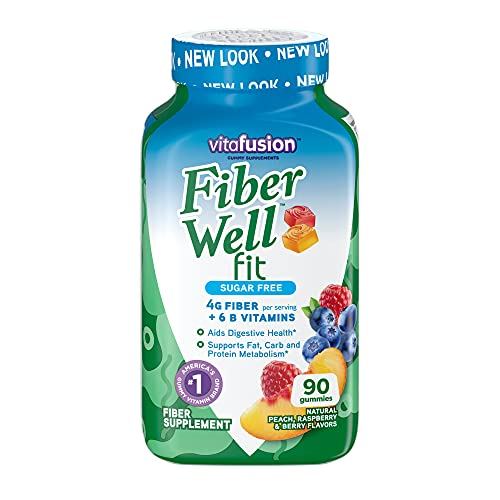 Vitafusion Fiber Well Fit Gummies S…