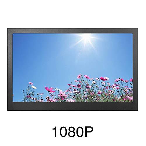 TXYFYP Monitor portátil, cámara de Respaldo inalámbrica Digital con señal Estable, Monitor HD 1080P 2K 13.3 '' y Kit de cámara de visión Trasera