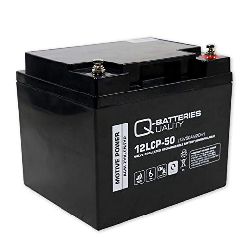 Batería Q-batteries 12LCP -36 12 V 36Ah de golf MOOVER o SCOOTER eléctrico móvil silla de ruedas ciclos tipo