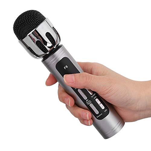 Micrófono de computadora portátil recargable de 4.1 canales, micrófono de karaoke de...