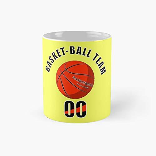 Taza clásica del equipo de baloncesto   El mejor regalo divertidas tazas de café de 325 ml