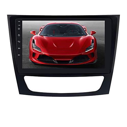 JALAL Android 10 Navegación GPS para automóvil RAM 2GB + ROM 32GB Estéreo para automóvil Ajuste para Mercedes-Benz E-W211 / G-W463 / CLK-W209 / CLS-W219 Soporte de Control del Volante Radio FM