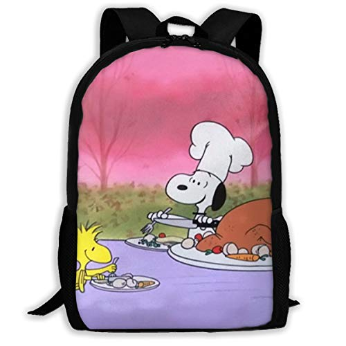 415PcJpqhtL - LIUYAN Custom Snoopy Mochila de Picnic Casual Mochila Escolar Bolsa de Viaje Daypack Regalo