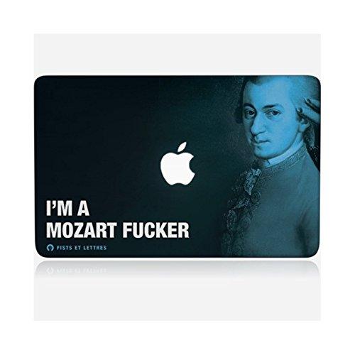 Skinkin Aufkleber für MacBook Pro 13 – Original Design: Mozart von Fists und Buchstaben