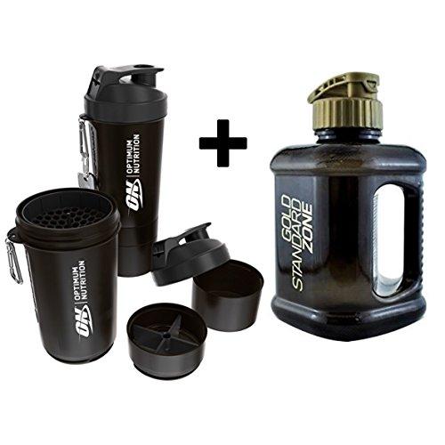 Optimum Nutrition - Botella Agua 2 litros + batidora