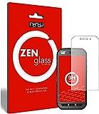 ZenGlass Nandu I Protector de Vidrio Flexible Compatible con Caterpillar Cat S41 I Protector de Pantalla 9H