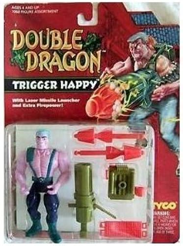 Double Dragon Trigger Happy Action Figure