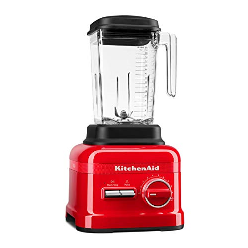 KitchenAid 5KSB6060H Mixer 2,6 l Blender Zwart, Rood Mixer